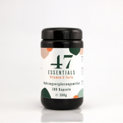 47 Essentials - Vitamin C forte (180 capsules)