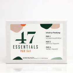 47 Essentials - PAR Set (100 ml 120 u. 180 capsules)